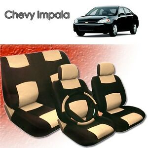 2001 2002 2003 2004 For Chevy Impala Pu Leather Seat Cover