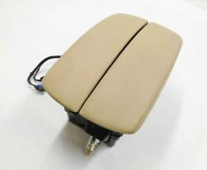 2010 2013 Bmw X5 X5m e70 Front Center Console Storage Box Arm Rest beige