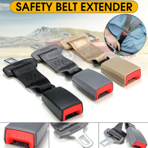 Universal 9 Car Seat Seatbelt Adjustable Safety Belt Extender Extension Buckle