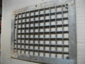 Heat Air Grate Wall Register 11x 12 Approx Oa 8 X 10 Wall Opening Square Hole