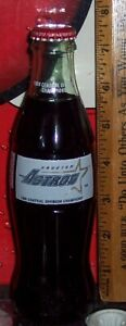 1999 HOUSTON ASTROS 1998 CENTRAL DIVISION CHAMPIONS  8 OZ COCA - COLA  BOTTLE