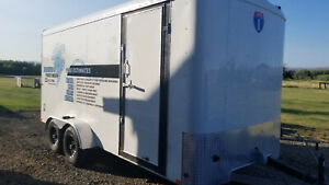 Commercial Pressure Washer In Enclosed Trailer Landa 2 step 16x7 2017