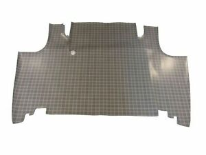 1968 1969 Mercury Montego Convertible Rubber Trunk Mat Small Ford Plaid Pattern