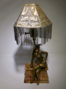 Art Deco Table Lamp Circa 1920 1930