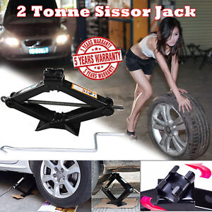 Car Jack Lift Kit Scissor Jacks Stands Tire Change For Travel Trailer Jeep Truck