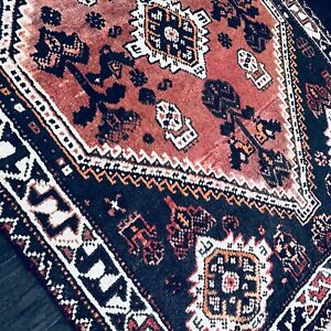 C 1940 Antique Vintage Stunning Exquisite Hand Made Rug 3 8 X 5 0