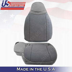 2000 2001 2002 Ford Ranger Xl Xlt Top Bottom Cloth Seat Cover Gray