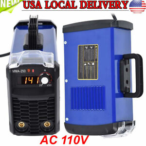 140amp Inverter Welding Machine Portable Digital Stick Welder Ac 110v Mma 250