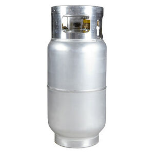 New 33 5 Lb Aluminum Forklift Propane Cylinder With Quick Fill Service Valve