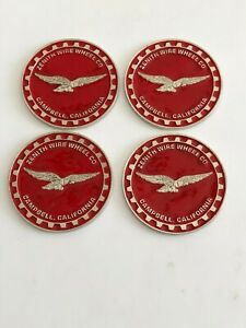 Zenith Wire Wheels Knock Off Metal Chips Size 2 25 Silver Red