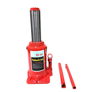 20 Ton Heavy Duty Garage Motorcycle Off Road Hydraulic Bottle Jack Stand Tool