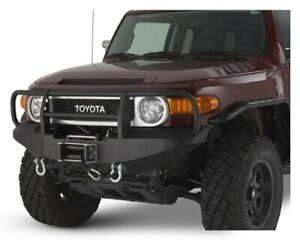 Warrior Products 3530 Front Winch Bumper Fits 2007 2013 Toyota Fj Cruiser