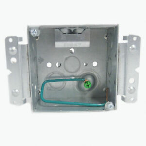 Raco Stab it 4 In Metal Square Electrical Box 20 pack