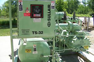 Sullair Ts32 400 Hp 460 Rotary Screw Air Compressor Variable Capacity Warranty