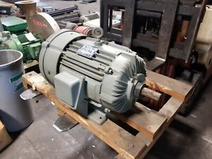 New Delco 10 Hp Electric Ac Motor 460 Vac 1765 Rpm 3 Phase 256uy Frame Eg31548a