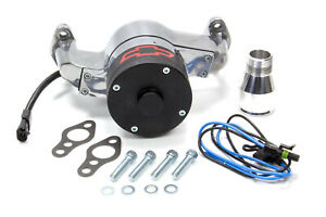 Proform 141 654 Electric Water Pump Kit Polished Fits Small Block Chevy Engines