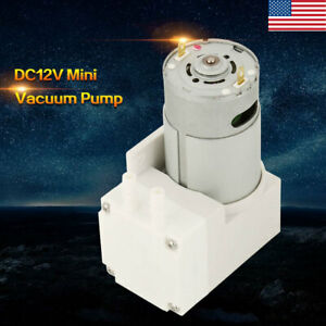 7l min Mini Vacuum Pump Dc12v Negative Pressure Suction Micro Pump 50w