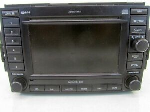 2005 2007 Chrysler 300 Dodge Durango Display Radio Cd Dvd Receiver W Nav Id Rec