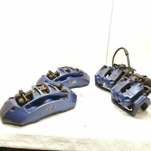 2013 Bmw M5 M6 Brake Caliper Set Front Rear Left Right Pair 34117845748