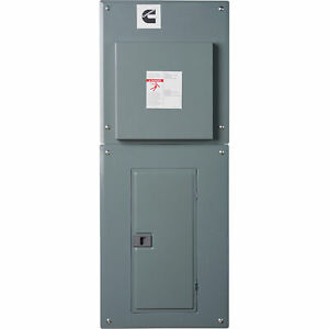 Cummins Automatic Transfer Switch With Load Center 100 Amps Model A051c991
