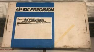 B k Precision Dynascan Model 830 Auto ranging Digital Capacitance Meter Nice