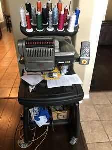 Melco Amaya Xt Embroidery 16 Needle Machine With Lots Of Extras