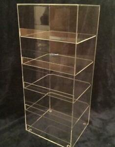 Acrylic Display Case 9 X 8 X 21 Tall Convenience Store Counter Top Display