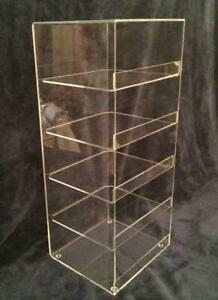 Acrylic Convenience Store Counter Top Display Case 8 x 7 x 21 Display Box Clear