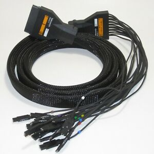 Tektronix P6417 Logic Analyzer Probe Cable