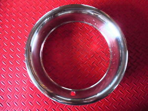 Chevrolet Camaro Corvette Chevelle Rally Wheel New Stainless Trim Rings 15 X 8