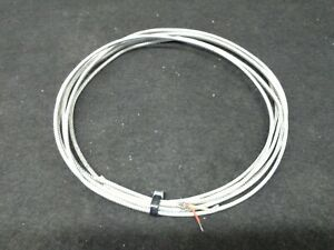 K type 24 Gauge Thermocouple Extension Cable Wire Braided Stainless Cover 12 9