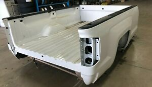 2014 2018 Chevrolet 8 Bed Box Complete W Tailgate And Tail Lights