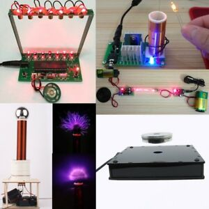 Creative Game tesla Coil laser Harp magnetic Levitation For Science Diy Kit Lot