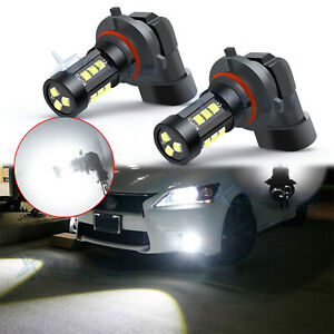 9005 Led High Beam Daytime Running Light Kit Drl For Lexus Is Gs Es Ls Rx Lx 2x