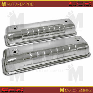 Fits 1955 64 Ford Y Block 272 292 312 Chrome Steel Valve Covers 3 5 Heights