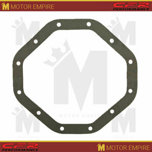 Fiber Rear End Differential Cover Gasket Fits Chrysler 9 25 R G 12 Bolts Gray