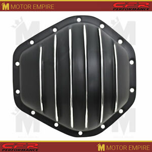 Aluminum Differential Rear Cover Fits Gm Chevy Truck 14 Bolt Black Finish