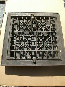 Heat Air Grate Wall Register 10x10 Approx Wall Opening Lock Well Brand Complete