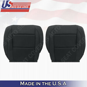 2005 To 2015 Black Driver Passenger Bottom Cloth Seat Cover For Nissan Armada