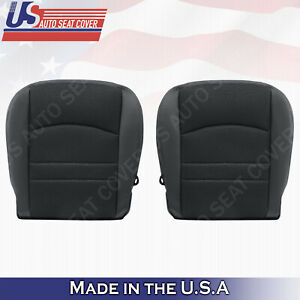 2013 2018 Dodge Ram 1500 Sport Bottoms Cloth leather Seat Cover Black