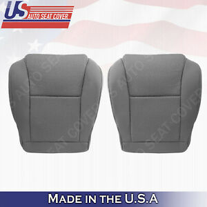 Driver Passenger Bottom Cloth Seat Cover Gray For 2005 To 2008 Toyota Tacoma