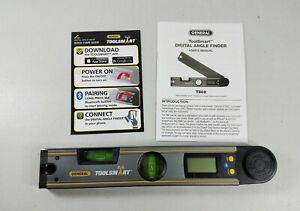 General Tools Ts02 Toolsmart Bluetooth Connected Digital Angle Finder Protractor