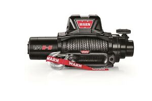 Warn 96805 Standard Duty Winch Synthetic Rope Standard Voltage