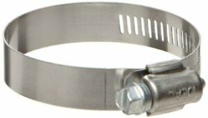 Ideal tridon Hy gear 50 Series Stainless Steel 201 301 Worm Gear Hose Clamp