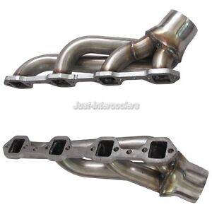 Cxracing Diy Twin Turbo Manifold Header For Ford Fox Body Mustang 5 0l