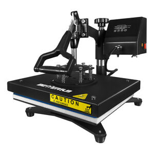 Swing Away Heat Press Machine 9 12in Sublimation For T shirt Printing Cloth Us