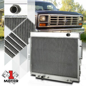 Aluminum 3 Row Core Performance Radiator For 83 94 Ford F250 F350 6 9 7 3 Diesel
