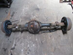 01 02 Ford Explorer Rear End Axle Differential 4 Door Sport Trac 3 73 Ratio
