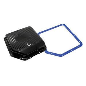 Gm Turbo 350 Black Deep Transmission Pan Hi Capacity Automatic W moroso Gasket