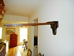 Antique Cast Iron Wood Clothes Dryer 8 Arm Clothes Dryer 1891 Labeled Wall Mount